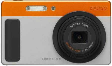 Pentax Optio H90: funzionale e elegante fotocamera