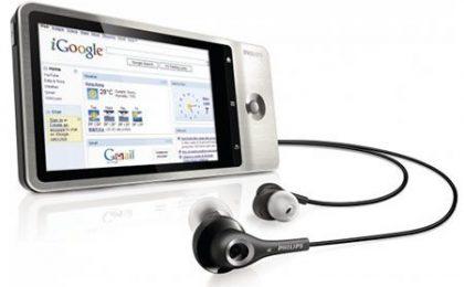 Philips vira su Android con un ottimo lettore mp4
