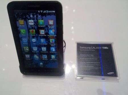 Samsung Galaxy Tab: Vodafone lo presenterà a Ottobre?