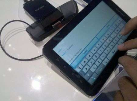 Samsung Galaxy Tab: prova-antipasto a Berlino