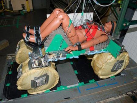NASA: sedili con airbag per atterraggi morbidi