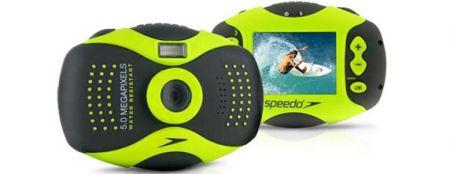 Fotocamera subacquea Speedo Acquashot può galleggiare