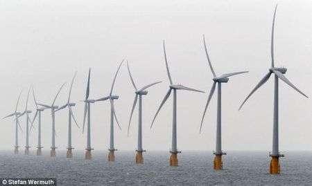 La più grande centrale eolica al mondo