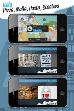 L'App per iPhone che vede l'Italia come pizza, mafia, pasta e scooter