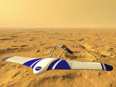 Marte: velocissimo aereo robotico sorvolerà e studierà il pianeta
