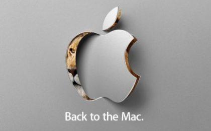 """Apple """"Back to the Mac"""": appuntamento al 20 ottobre, con quali novità?"""