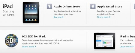 apple store ipad