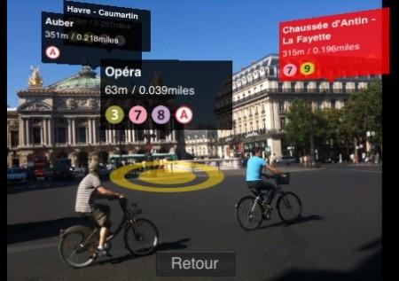 augmented reality parigi