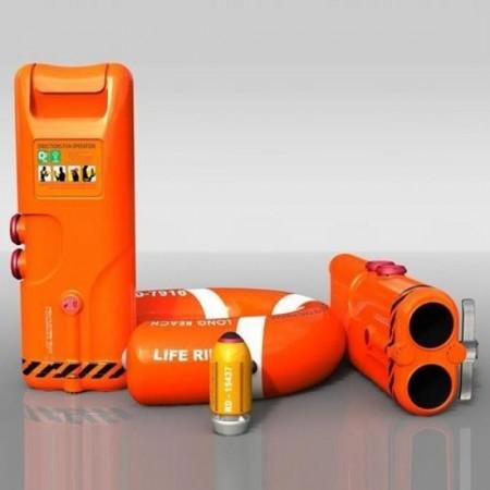 Salvataggio hitech: un bazooka spara salvagente