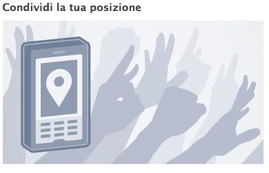 facebook luoghi condividi