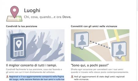 Facebook Luoghi (Places): tutti i trucchi e segreti