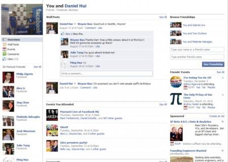 Facebook Friendship Pages raccontano la storia di un'amicizia