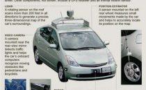 Google Street View e lauto che guida da sola