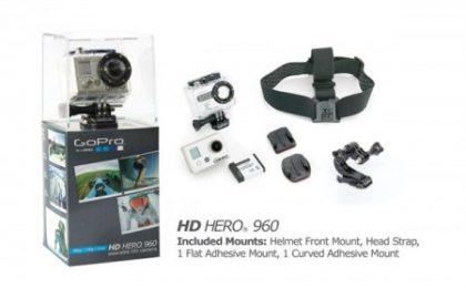 La nuova videocamera indossabile HD di GoPro