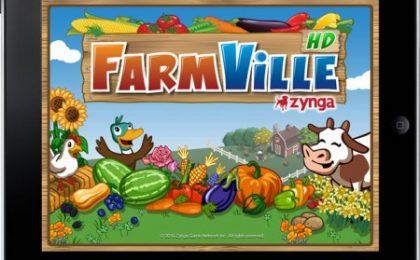 Farmville su iPad: il gioco di Facebook arriva in versione HD