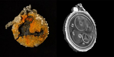 Raggi X svelano la perfezione di un orologio del '600