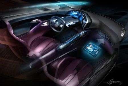 La Peugeot con tablet incorporato