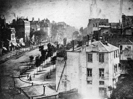 La prima persona fotografata nella storia