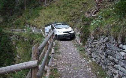 Ecco cosa succede quando il navigatore GPS si sbaglia…