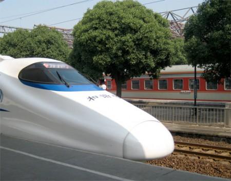 Treno cinese segna un nuovo record