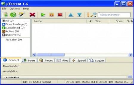 uTorrent programma