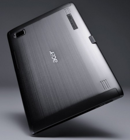 Tablet Acer con Android e Windows 7 svelati a New York