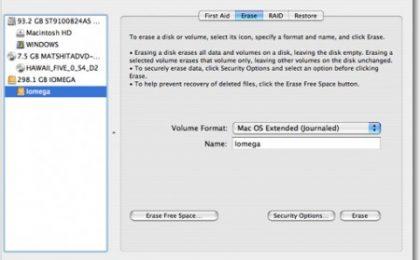 Formattare un Mac: procedure e consigli pratici