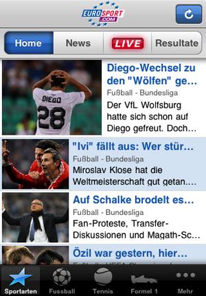 Eurosport iphone