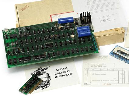 Computer Apple-I: venduto a un italiano per 156.000 euro!