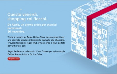 Apple Store: sconti speciali il 26 novembre su Macbook e co.
