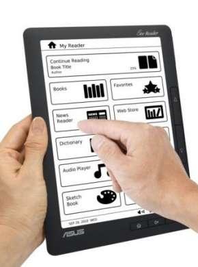 E-reader ASUS Eee Reader DR900: gli ebook su un touchscreen da 9″