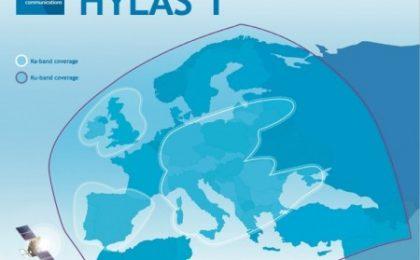 Satellite Hylas 1 per la banda larga in Europa