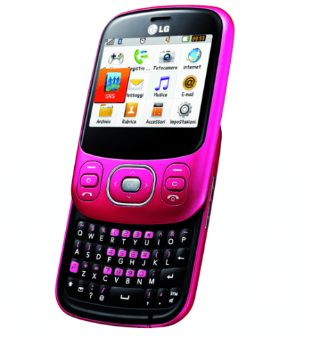 LG InTouch Lady: il cellulare sociale per Lei