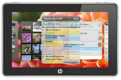 Tablet Palm Mansion: webOS 2.0 e un touchscreen compatto