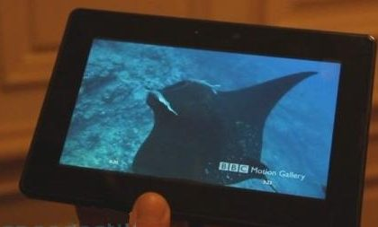 Blackberry Playbook: il primo video di hands-on sul tablet!