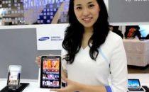 Samsung Galaxy Tab: Super AMOLED e schermo più grande?