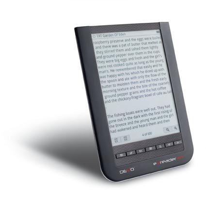 Lettore ebook DeVo eVreader WT: touchscreen, Wi-Fi e un buon prezzo