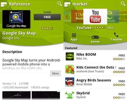 Android Market si aggiorna: rimborso, nuova grafica e categorie