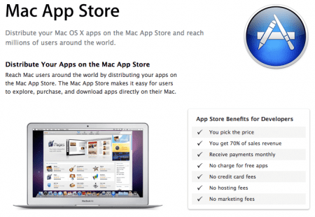 Apple Mac App Store apre i battenti il 6 gennaio 2011