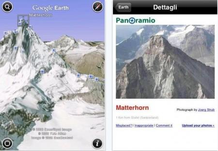google earthmaps iphone