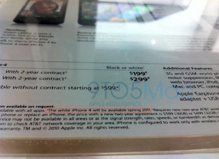 iPhone 4 Bianco a primavera 2011, ma chi lo comprerà?