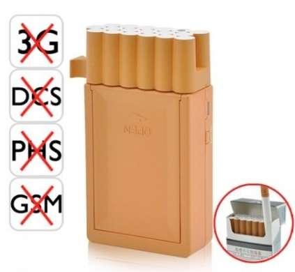 Jammer per cellulari: il pacchetto di sigarette che blocca le frequenze!