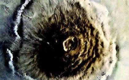 Spazio: Monte Olympus (Marte), foto HD del più alto picco del sistema solare