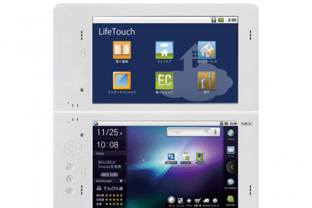 Tablet Android doppio touchscreen NEC al CES 2011