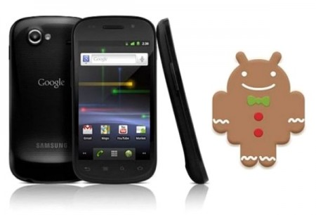 Android 23 Gingerbread Nexus S