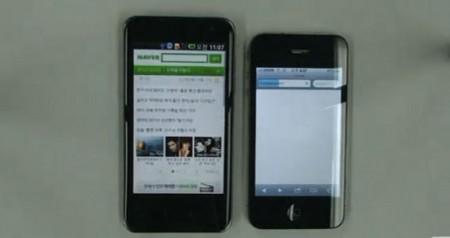 LG Optimus Dual vs iPhone 4