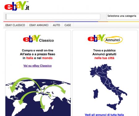 eBay passione italiana: un acquisto al secondo nel 2010