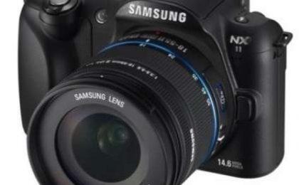 Fotocamera Samsung NX11, la nuova mirrorless