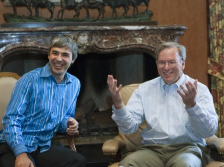 Google: Eric Schmidt si defila, Larry Page nuovo CEO