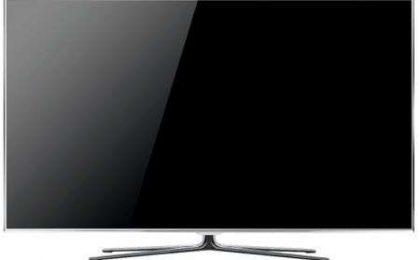 LED TV Samsung D8000: la cornice magicamente sparisce